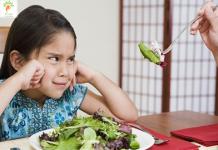 tại sao trẻ thường không thích ăn rau